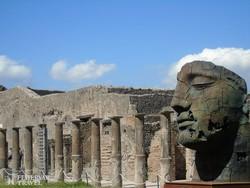 monumentális műemlékek Pompeji romvárosában