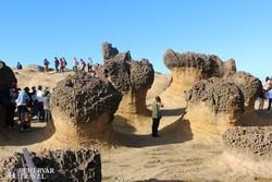 a Yehliu Geopark különleges sziklaformációi
