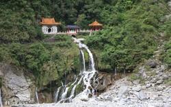 vízesés a Taroko Nemzeti Parkban