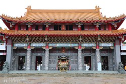 a gyönyörű Wenwu-templom