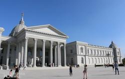 a neoklasszicista stílusban épült Chimei Múzeum Tainanban