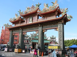 Anping – bejárat a Mazu templomhoz