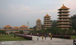a Fo Guang Shan Buddha Emlékközpont pagodái