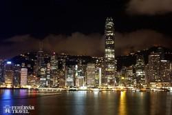 Hongkong esti fényei