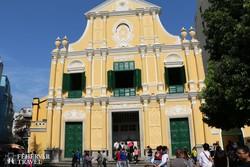 a Szent Domonkos-templom Makaón