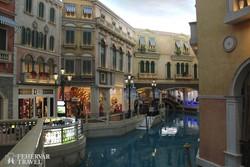 """olasz hangulat a """"The Venetian Macao"""" kaszinókomplexumban"""