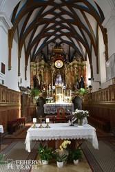 az andocsi templom belsője
