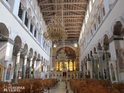 Thesszaloniki – a Szt. Demeter-bazilika belső részlete