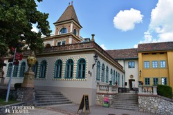 Pécs – a Zsolnay-negyed egy részlete