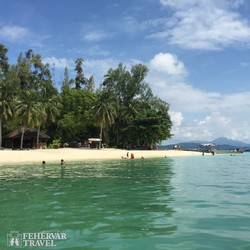 Langkawi trópusi tengerpartja - részlet