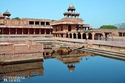 Fatehpur Sikri palotaegyüttese – részlet