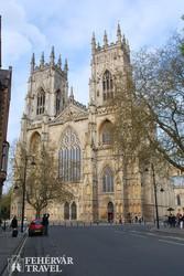 a gótikus stílusú yorki katedrális