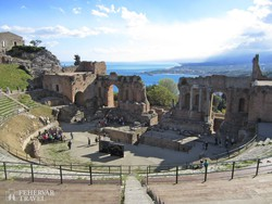 Taormina: a görög színház