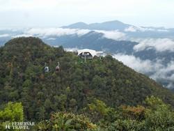 kabinos felvonó Langkawi szigetén