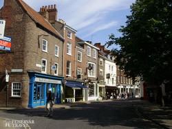 utcakép Yorkban