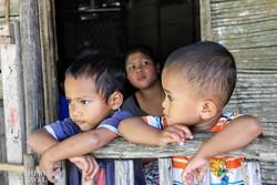 malajziai gyerekek