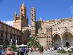 a katedrális Palermóban – részlet