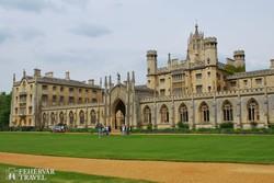 Cambridge: a St. John's College épülete - részlet