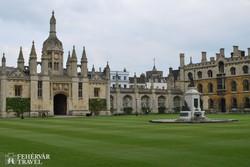 Cambridge: a King's College egyik épülete