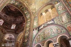 kora középkori mozaikok a ravennai San Vitale templomban