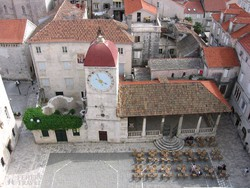 Trogir olaszos óvárosa