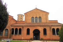 a Sant' Apollinare in Classe bazilika Rimini mellett