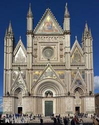 """az """"Itália csodája"""" dóm Orvietóban"""