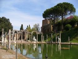 a Hadriánus villa Tivoliban – részlet