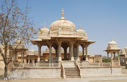 Gaitor – uralkodói síremlékek Jaipur közelében