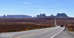 első pillantás a Monument Valley-re