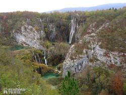 Plitvice egyik legszebb vízesése