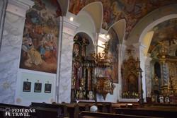 Sümeg – a ferences templom belsője