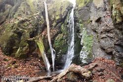Magyarország legmagasabb természetes vízesése, az Ilona-völgyi vízesés
