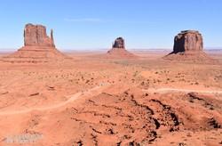 az USA egyik leghíresebb természeti attrakciója, a Monument Valley