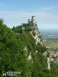 San Marino egyik erődtornya