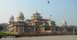 Jaipur: az indo-szaracén stílusban épült Albert Hall