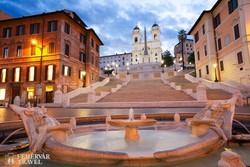 a Spanyol lépcső Rómában