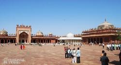 Fatehpur Sikri – az egykori mecset udvara