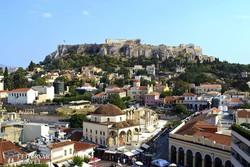 athéni részlet az Akropolisszal