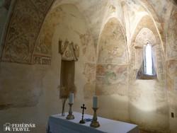 Aquila János freskói a veleméri templomban – részlet