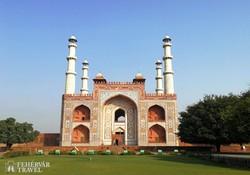 Sikandra: Akbar császár mauzóleumának kapuja