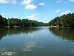 séta a Vadása-tó partján