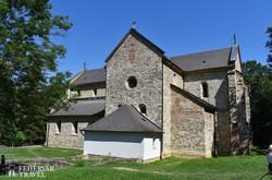 a magyarországi román stílus kiemelkedő emléke, a bélapátfalvi apátsági templom