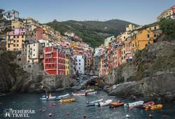 Riomaggiore – a Cinque Terre egyik meghökkentő fekvésű települése