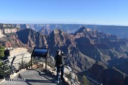 panorámapont a Grand Canyon északi pereménél