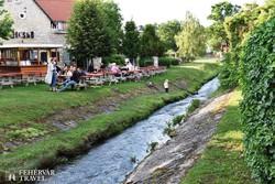 Veszprém – a Séd patak partja