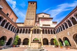 Bologna – a Santo Stefano kerengője