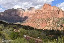 a Zion Nemzeti Park látképe (részlet)