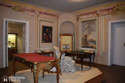 a rekonstruált Orczy-lakosztályok egy részlete a Mátra Múzeumban