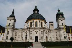 Ettal – a bencés kolostor barokk temploma
